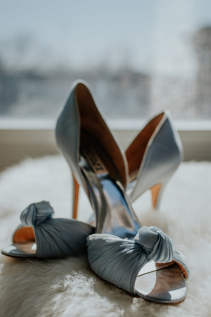 gorgeous blue pumps for your something blue
