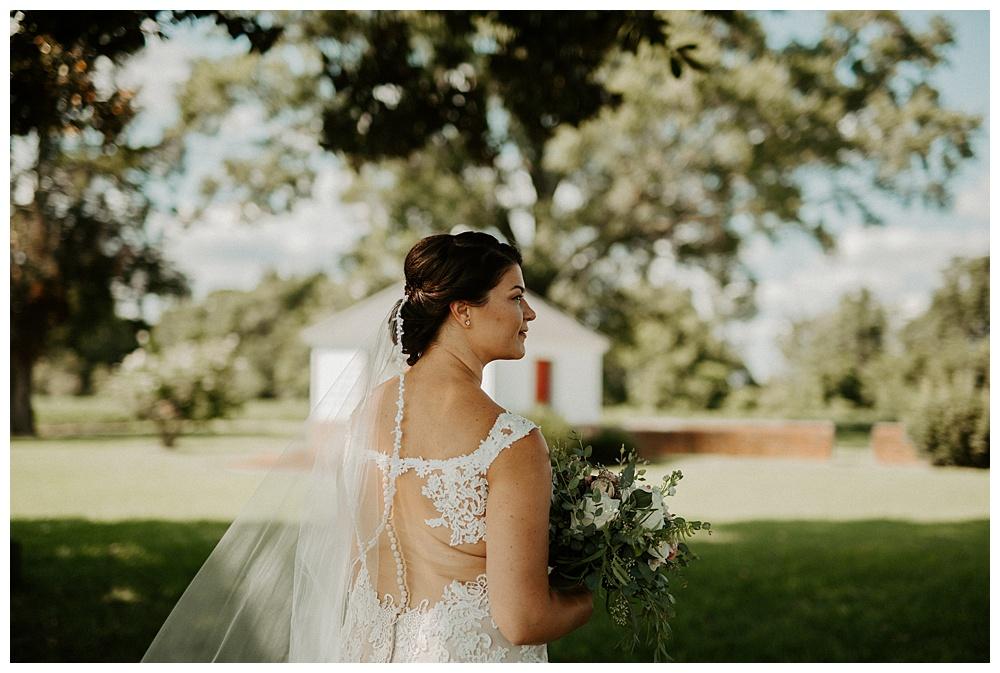 bridal portraits for a Coastal Virginia celebration